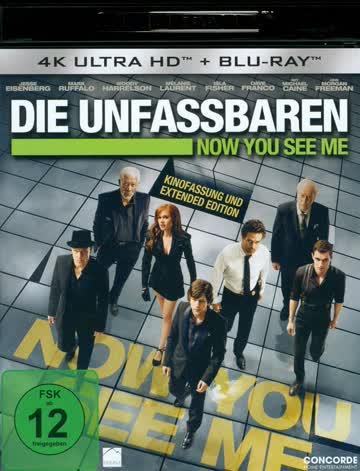 Now You See Me - Die Unfassbaren (4K UltraHD + Bluray)