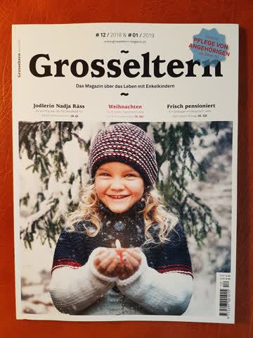 """Zeitschrift """"Grosseltern 2018-12 / 2019-01"""" neuwertig"""