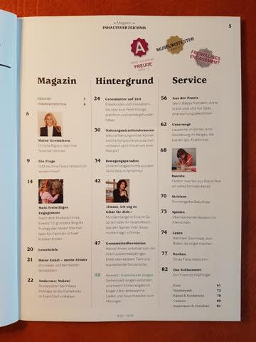 """Zeitschrift """"Grosseltern 2019-02"""" neuwertig"""