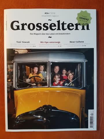 """Zeitschrift """"Grosseltern 2019-04"""" neuwertig"""