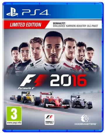 Formel 1 2016 - Limited Edition, Erschaffe deine Legende