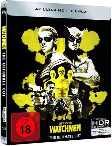 Watchmen [4K Ultra HD + Blu-ray]