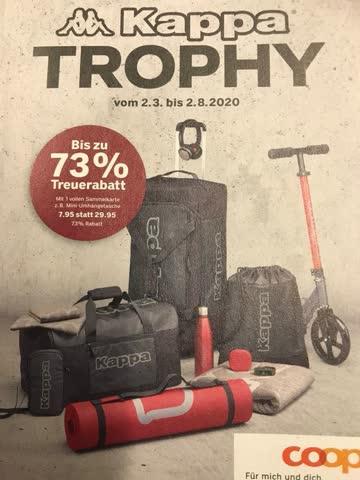 Coop Kappa Trophy - 2 volle Sammelkarten