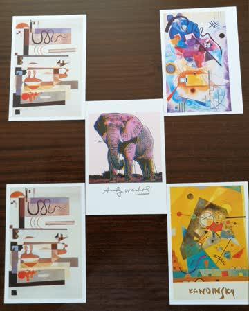 Künstlerkarten