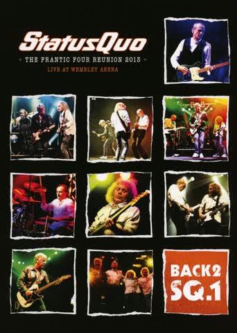 Status Quo - Live at Wembley (DVD & CD)