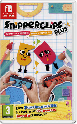 Snipperclips Plus (Nintendo), NSW