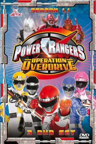 Power Rangers: Operation Overdrive - Staffel 15