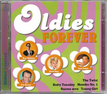 Bobby Bare, Shirley Bassey, Pat Boone, Andre Brasseur, Chubby Checker,... - Oldies Forever