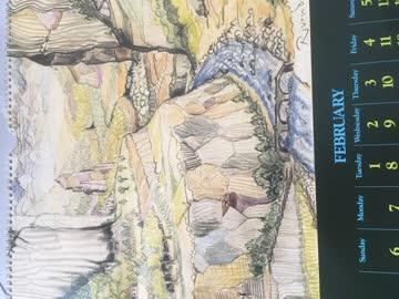 The Lord of the Rings 1977 Calendar /Herr der Ringe Kalender