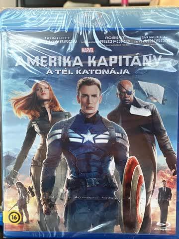 Amerika Kapitany - A Tel Katonaja (ungarisch)