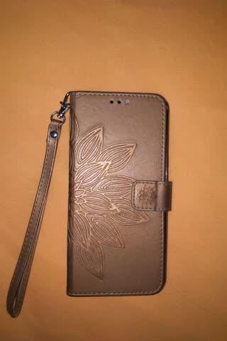 Natelcase aus Leder für Samsung S8+