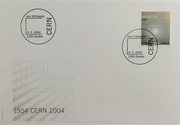2004 FDC 50 Jahre CERN MiNr: 1866