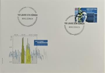 2005 FDC 150 Jahre ETH MiNr: 1913