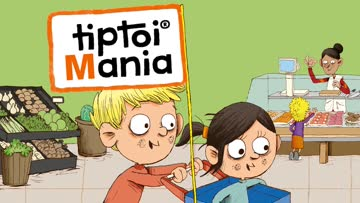 Sticker Sachet - 3 Stück (ungeöffnet) - Tiptoi Mania