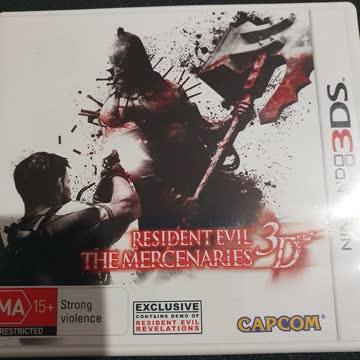 Nintendo 3DS Resident Evil Mercenaries 3D