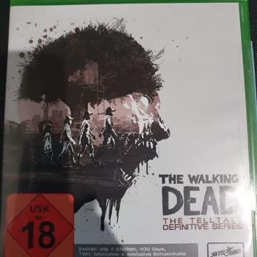 Xbox One Walking Dead Definitive Series