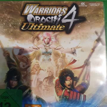 Warriors Orochi Ultimate 4