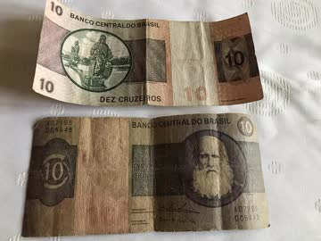 zwei brasilianische Banknoten