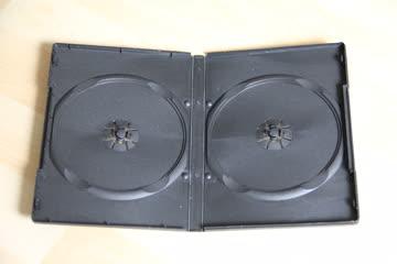 CD/ DVD Soft Hülle für 2 DVDs 10er- Set Schwarz von Pearl