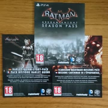 PS4 - Arkham Knight Steelbook Edition