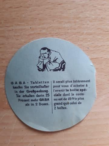 Alter Gaba-Gutschein 3 P.
