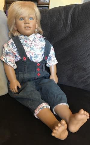 Grosse Himstedt Puppe Kasimir