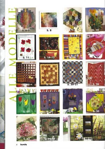 Magazin- Burda Patchwork - Quilts & Applizieren