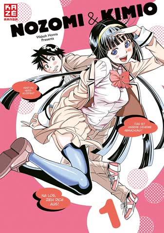 Nozomi & Kimio. Bd.1