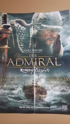 Kinoposter, Filmposter, Poster von Der Admiral