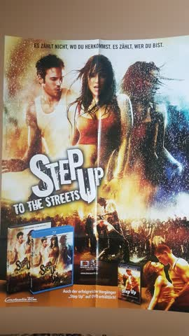 Kinoposter, Filmposter, Poster von Step up to the Streets