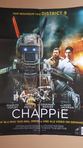 Kinoposter, Filmposter, Poster von Chappie