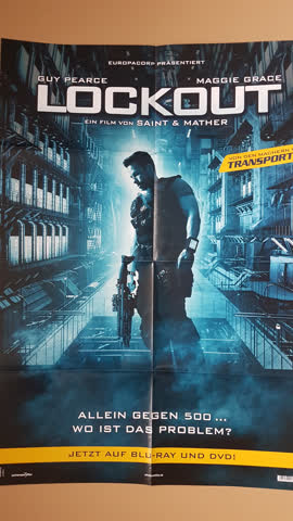 Kinoposter, Filmposter, Poster von Lockout