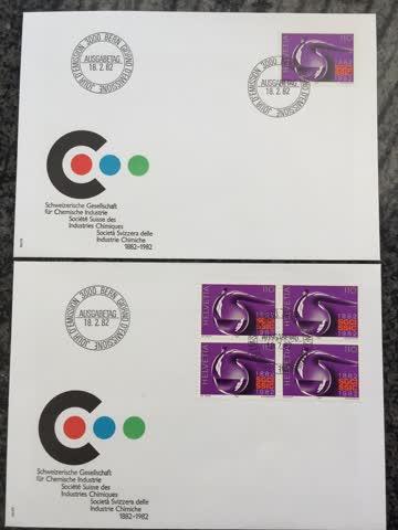 Sondermarke CH Ges. chemische Industrie 1982