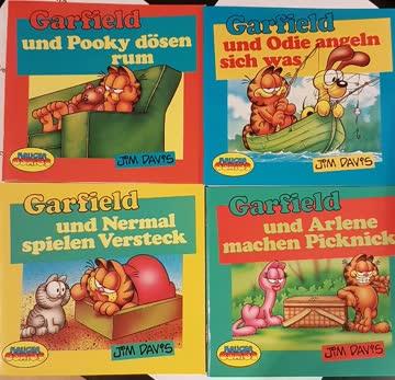 Garfield Mini Bücher (4st)
