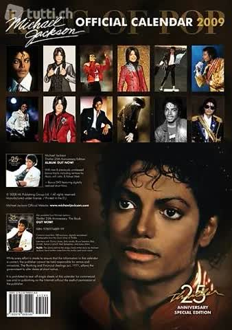 Michael Jackson Official Calendar 2009: Thriller 25th Annive