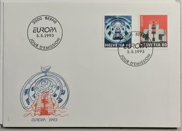 1993 FDC Europamarken