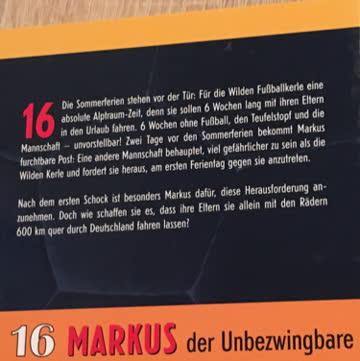 16 Markus der Unbezwingbare 1
