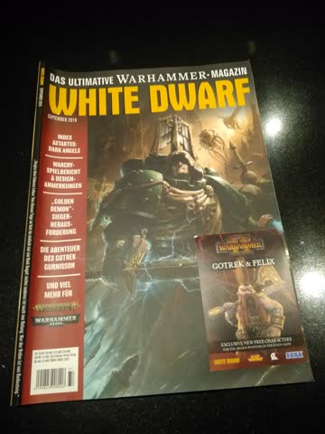 White Dwarf Ausgabe September 2019