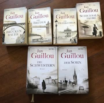 ganze Brückenbauerserie von Jan Gouillou