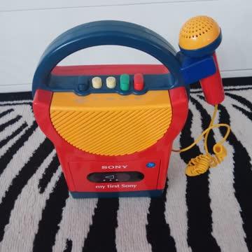 Kinder Kassettenrekorder Sony