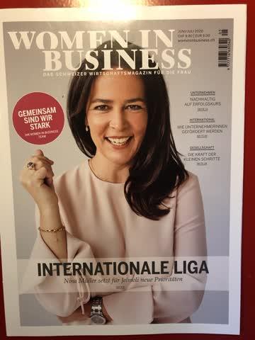 Women in Business - Wirtschaftsmag. für Fr. Juni/Juli 2020