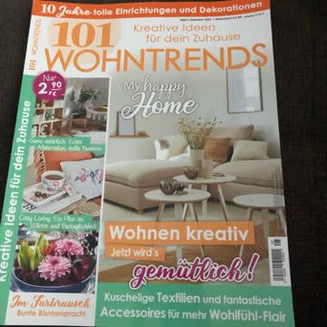 101 WOHNTRENDS Ausgabe August/Sept.20