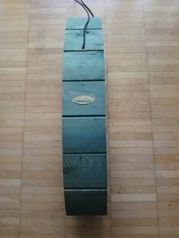 Meisenkugelhalter, dekorativ, Holz