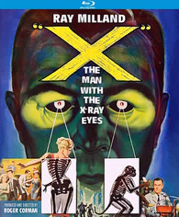 X: The Man with the X-Ray Eyes (Blu-ray)