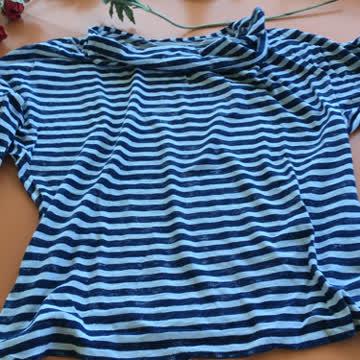 Cooles Shirt mit Streifen Backstage