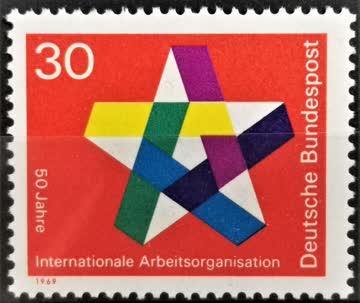 1969 Int. Arbeitsorganisation postfrisch** MiNr: 582