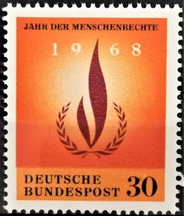 1968 Int. Jahr der Menschenrechte postfrisch** MiNr: 575