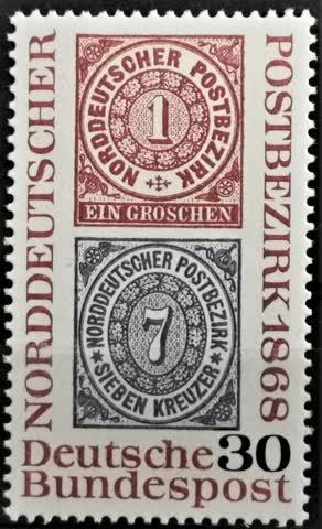 1968 Nordeutscher Postbezirk postfrisch** MiNr: 569