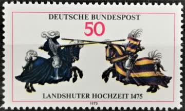 1975 Landshuter Fürstenhochzeit postfrisch** MiNr: 844