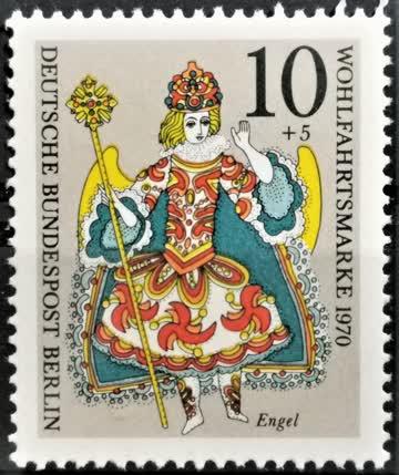 1970 Krippenfigur Ursulinerinnenkloster postfrisch** MiNr: 6